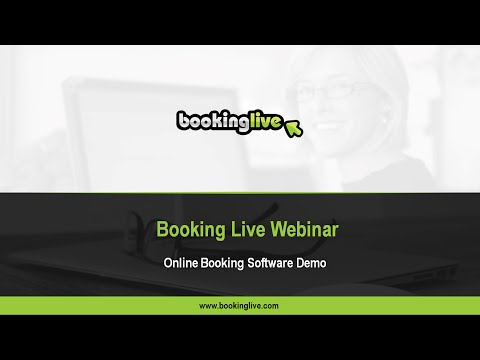 Booking Live Software - Introduction