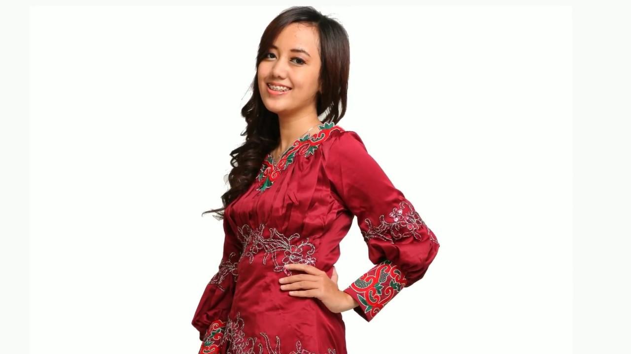 Baju Kebaya Satin Fashion Youtube