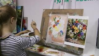 Уроки и мастер-классы в студии живописи