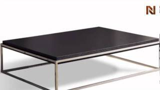 Alphaville Parma Rectangle Coffee Table Ct-parm-rec From Euro-modern Collection