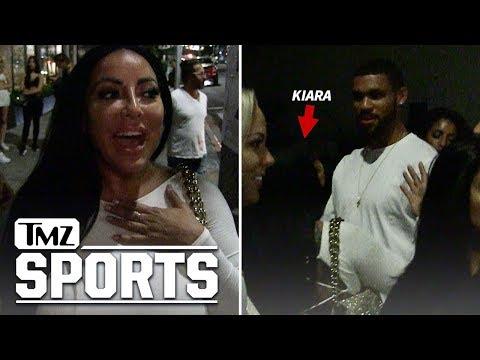 Kiara Mia Kicks It with International Soccer Stars | TMZ Sports