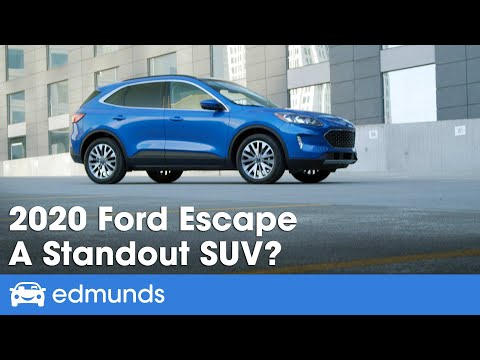 2020 Ford Escape Review & First Drive — A Small SUV Standout?