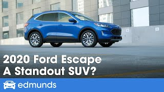 The 2020 ford escape has been redesigned to look more like a car yet still offers increased cargo space and higher driving position of an suv. build...