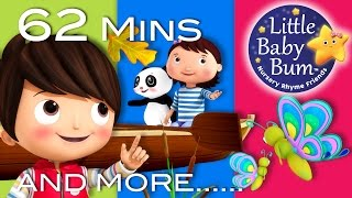 Row Row Row Your Boat | Part 3 | Plus More Nursery Rhymes | 62 Mins Compilation by Little Baby Bum