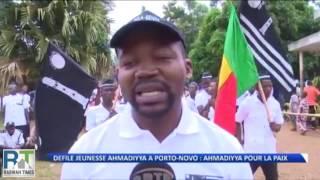 Benin's Ahmadiyya Muslim youth march for Peace