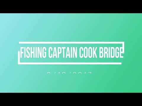 Fishing Captain Cook Bridge 03102017