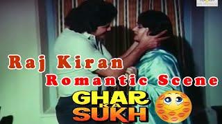 Raj Kiran Romantic Scene from Ghar Ka Sukh    Bollywood Drama Movie