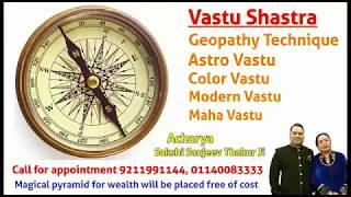 Geopathic Stress  - Aura Analyzer & Lecher Antenna for VASTU | Acharya Sakshi Sanjeev Thakur Ji