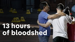 Two US mass shootings in 13 hours leave at least 29 dead