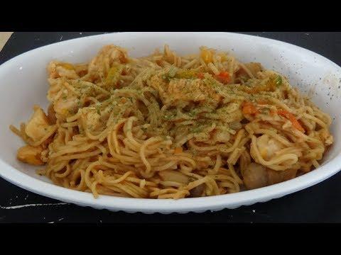 nouilles-chinoise-et-poulet-au-cookeo