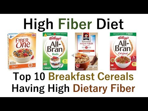 Breakfast Cereals Having High Dietary Fiber Content
