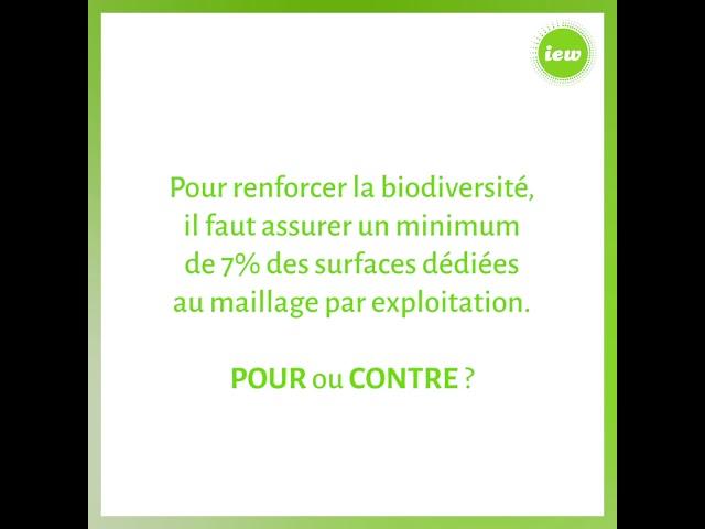 L'impact de l'agriculture sur la biodiversité