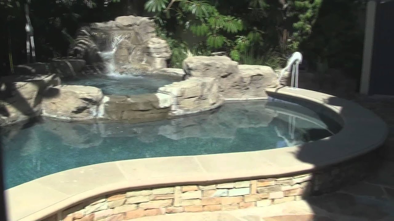 Elevated Pool sunset - great elevated pool in a small yard - youtube