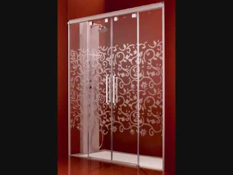 Preciosas mamparas de ducha y baño - YouTube