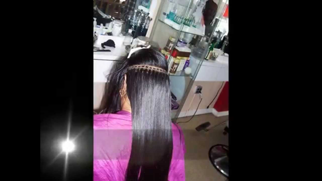 Micro rings hair extensionbonitta hair youtube pmusecretfo Choice Image
