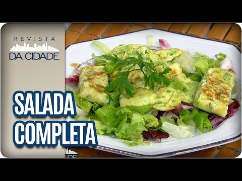 Receita de Salada Completa - Revista da Cidade (01/02/2017)