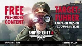 Sniper Elite 4 — «Цель фюрер» - Трейлер