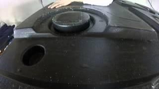 abs plastic welding repair bottom of tub