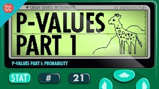 How p-values help us test hypotheses: Crash Course Statistics #21