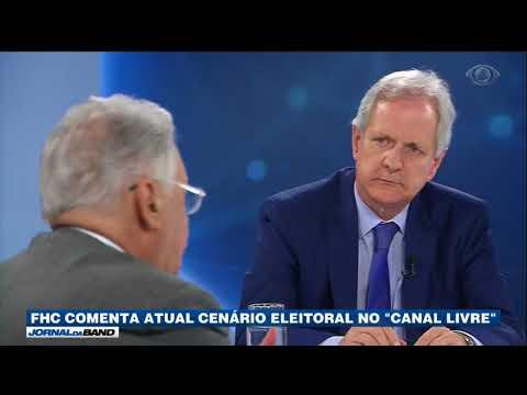 FHC Comenta Cenário Político Atual No Canal Livre