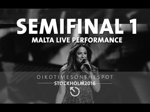 oikotimes.com: Malta First Semi Final First Dress Rehearsal