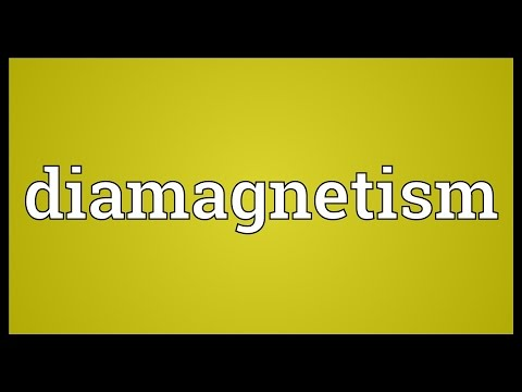 Diamagnetism Meaning