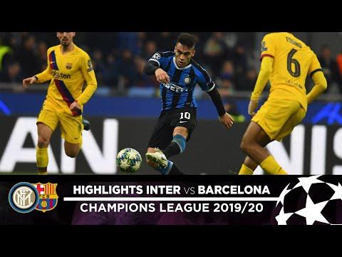 Inter 1-2 Barcelona   Highlights   Matchday 06 – Uefa Champions League 2019/20