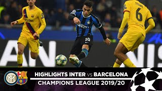 INTER 1-2 BARCELONA | HIGHLIGHTS | Matchday 06 - UEFA Champions League 2019/20