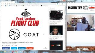 Insider Ties Ep. 141: Why Foot Locker Invested 100 Million In GOAT Group