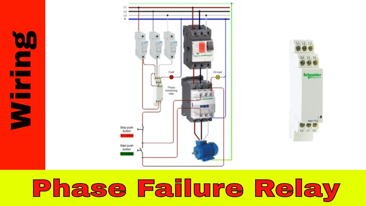 How To Wire Phase Failure Relay