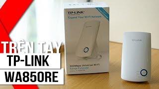 FPT Shop - Trên tay và hướng dẫn sử dụng bộ mở rộng sóng wifi TP-LINK WA850RE