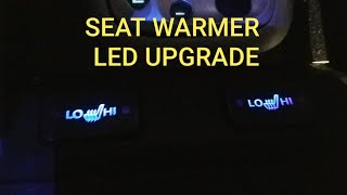 HOW TO INSTALL LED SEAT WARMER SWITCH TUTORIAL