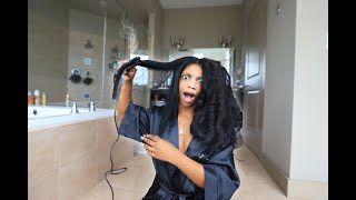 De'arra Almost Destroyed Her Hair!!! | Quarantine Vlog