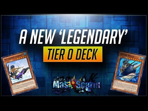 A New 'Legendary' Tier 0 Deck! Sea Stealth Attack is BROKEN | YuGiOh Duel Links w/ MasKScarin