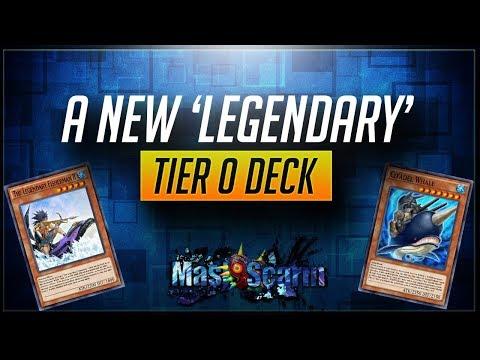 A New 'Legendary' Tier 0 Deck! Sea Stealth Attack Is BROKEN   YuGiOh Duel Links W/ MasKScarin