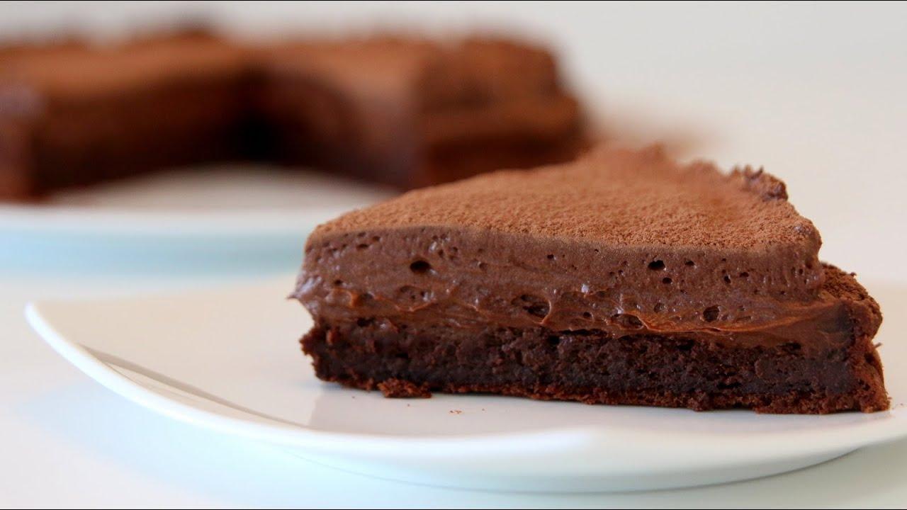 Chocolate Mousse Cake Recipe Cookingwithalia Episode