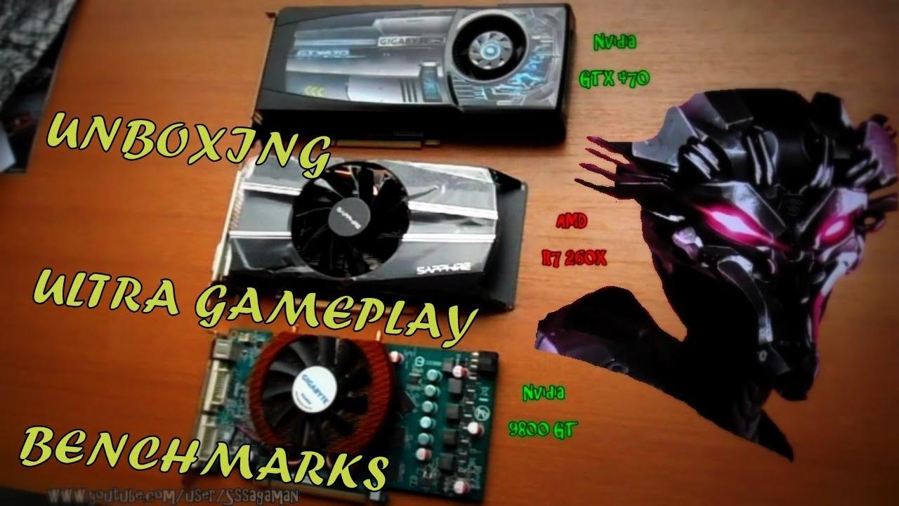 Sapphire Radeon R7 260X OC - UNBOXING, Ultra Gameplay