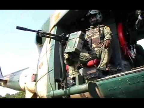 Sri Lanka Air Force - Maintance and Testing of Bell-212 Helicopter