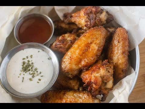 air-fryer-crispy-keto-chicken-wings-|-cosori-air-fryer-review-&-demo