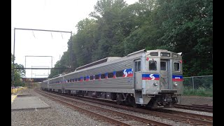 Railfan Philadelphia  with Septa CSX Amtrak and Norristown High speed line