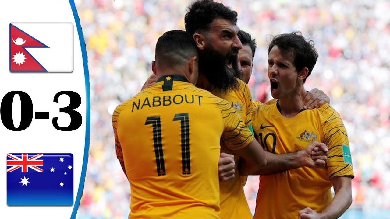 Download NEPAL VS AUSTRALIA   WORLD CUP 2022 QUALIFIERS  JUNE 12, 2021  FOOTBALL HIGHLIGHTS   3-0   ENGLISH
