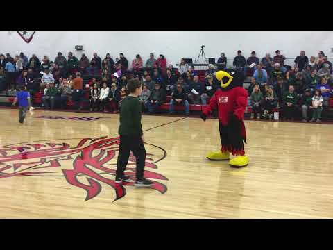 """United Tribes Technical College mascot """"Thunder"""""""