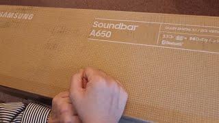 삼성 HW-A650  3.1채널 사운드바 개봉기 &am…
