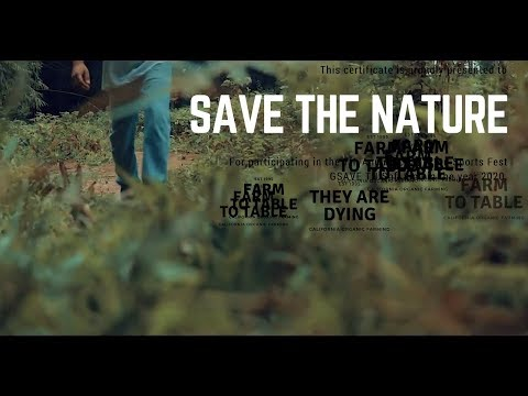 SAVE THE NATURE || SHORT FILM