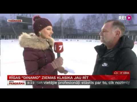 Rīgas ''Dinamo'' ziemas klasika jau šovakar