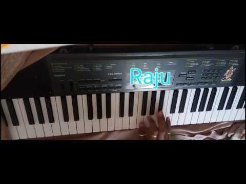 Piano Gujarati dhulki tari mane Maya lagi rajusoni chitrod