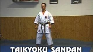Karaté - cours 6 : kata de base (Taikyoku shodan, nidan, sandan et Heian sodan)