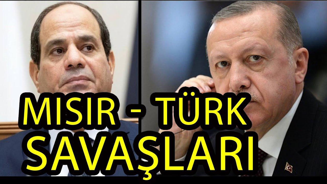 Mısır ve Türkiye'nin arasında çıkan üç savaş. Yakın olan dördüncü savaşın çıkma sebebi. (belges