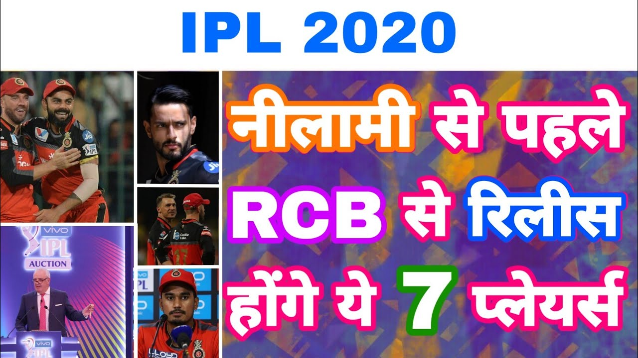 Fair Play Points World Cup 2020.Ipl 2020 List Of 7 Players Released By Rcb Before Auction World Cup 2019 My Cricket Production