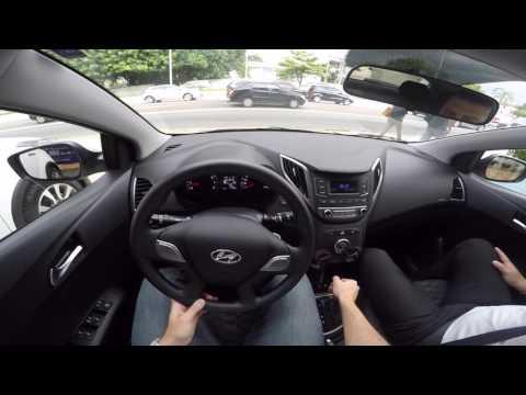 Hyundai HB20 1.6 Automático 2016 Test Drive Onboard POV GoPro + Comentários